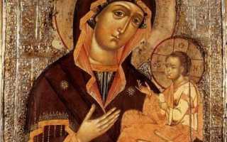 Грузинская божья матерь
