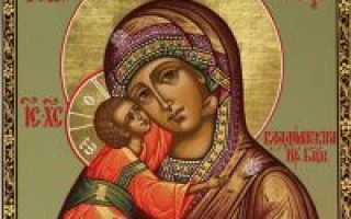 Владимирская божья матерь в чем помогает
