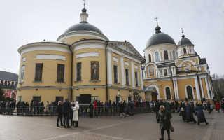Мощи матроны московской где находится сейчас