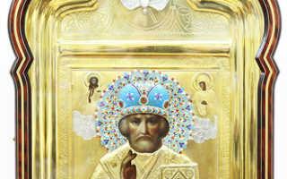 Старинная икона николая чудотворца