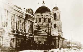 Храм сергия радонежского саратов