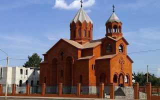 Отличие армянской церкви от русской православной