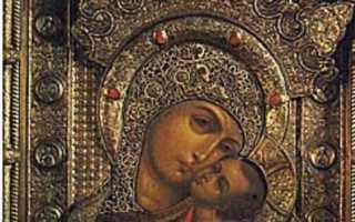 Корсунская икона божией матери: история, значение, в чем помогает и как молиться, корсунская икона божией матери