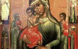 Трех радостей, икона божией матери — древо, икона божией матери трех радостей