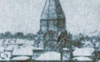Храм иерусалимской иконы божией матери
