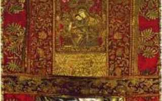 Икона божией матери милостивая киккская