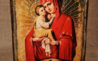 Почаевская икона божией матери значение