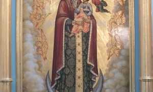 Божья матерь радость всех радостей