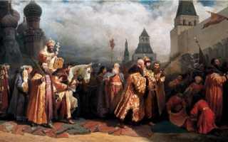 Раскол русской православной церкви произошел в царствование