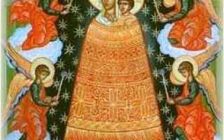 Прибавление ума икона божией матери