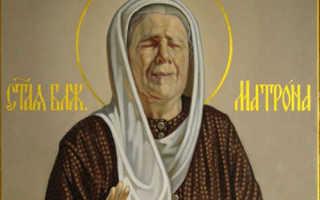 Икона святой Матроны Московской: история и значение