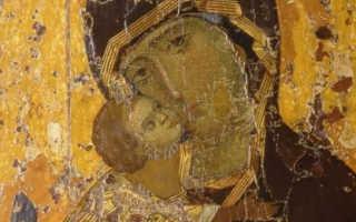 Владимирская икона божией матери значение