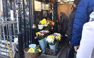 Где похоронена матрона московская даниловское кладбище адрес