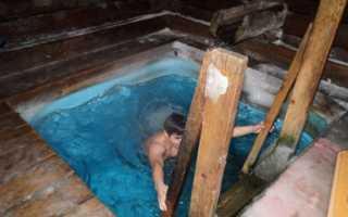 Какую молитву читать на крещение перед купанием