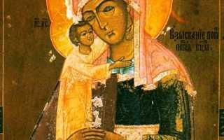 Взыскание погибающих икона божией матери: храм живоначальной троицы на воробьёвых горах