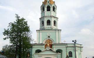 Храм николая чудотворца в московской области