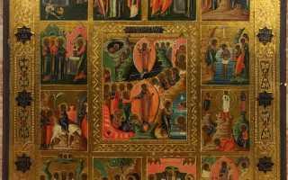 12 главных православных праздников