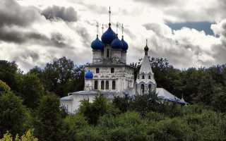 Храм казанской божьей матери в коломенском