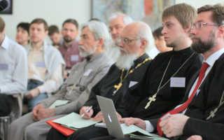 Прихожане православной церкви