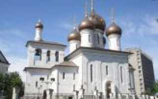 Храм преподобного сергия радонежского на рязанке