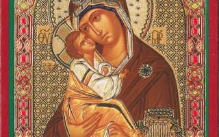 Почаевская божья матерь