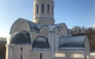 Храм сергия радонежского в тушино