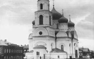 Храм сергия радонежского нижний новгород