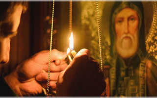 Молитва об исцелении от рака