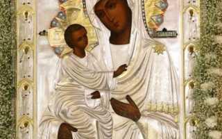 Икона иерусалимской божьей матери фото