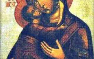 Алипий печерский владимирская икона божией матери