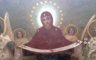 Молитва богородице читать