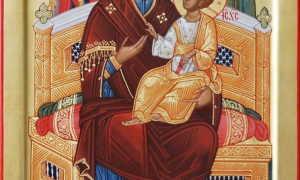 Всецарица икона божией матери молитва