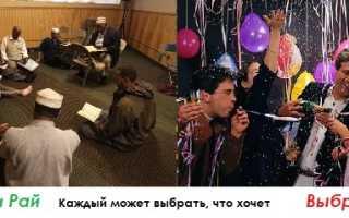 Новый год мусульманский праздник или христианский
