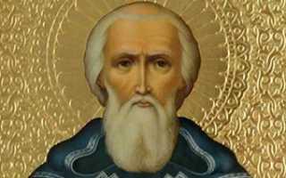Сергий радонежский молитва на экзамен