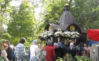 Где находится могила матроны московской