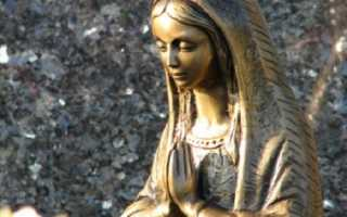 Молитва-оберег сон Пресвятой Богородицы