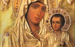 Иерусалимская божья матерь