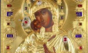 Федоровская икона божьей матери кострома