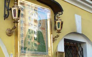 Матрона московская икона покровский монастырь