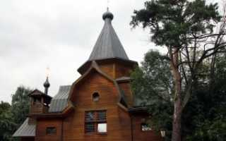 Храм николая чудотворца у соломенной сторожки