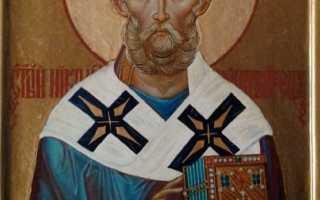 Православные праздники николая чудотворца