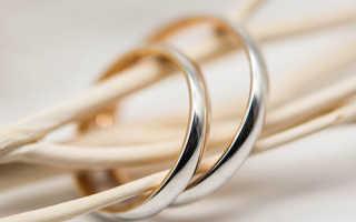 Кольца для венчания в церкви