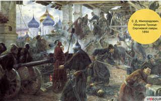 Раскол русской православной церкви в 17 веке