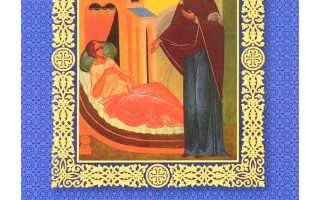 Акафист целительнице божьей матери читать