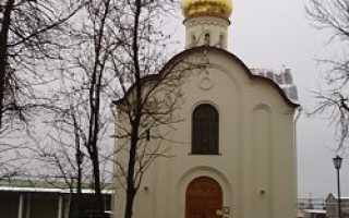 Церковь николая чудотворца в санкт петербурге