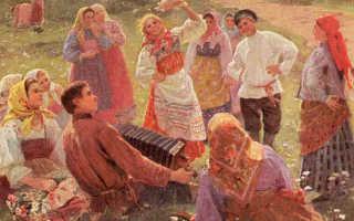 Православный праздник красная