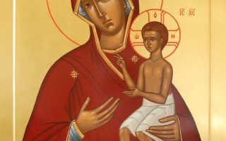 Акафист божией матери воспитание