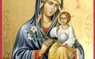 Молитва божией матери неувядаемый цвет