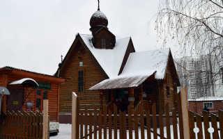 Храм сергия радонежского зеленоград