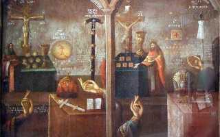 Возникновение раскола в русской православной церкви